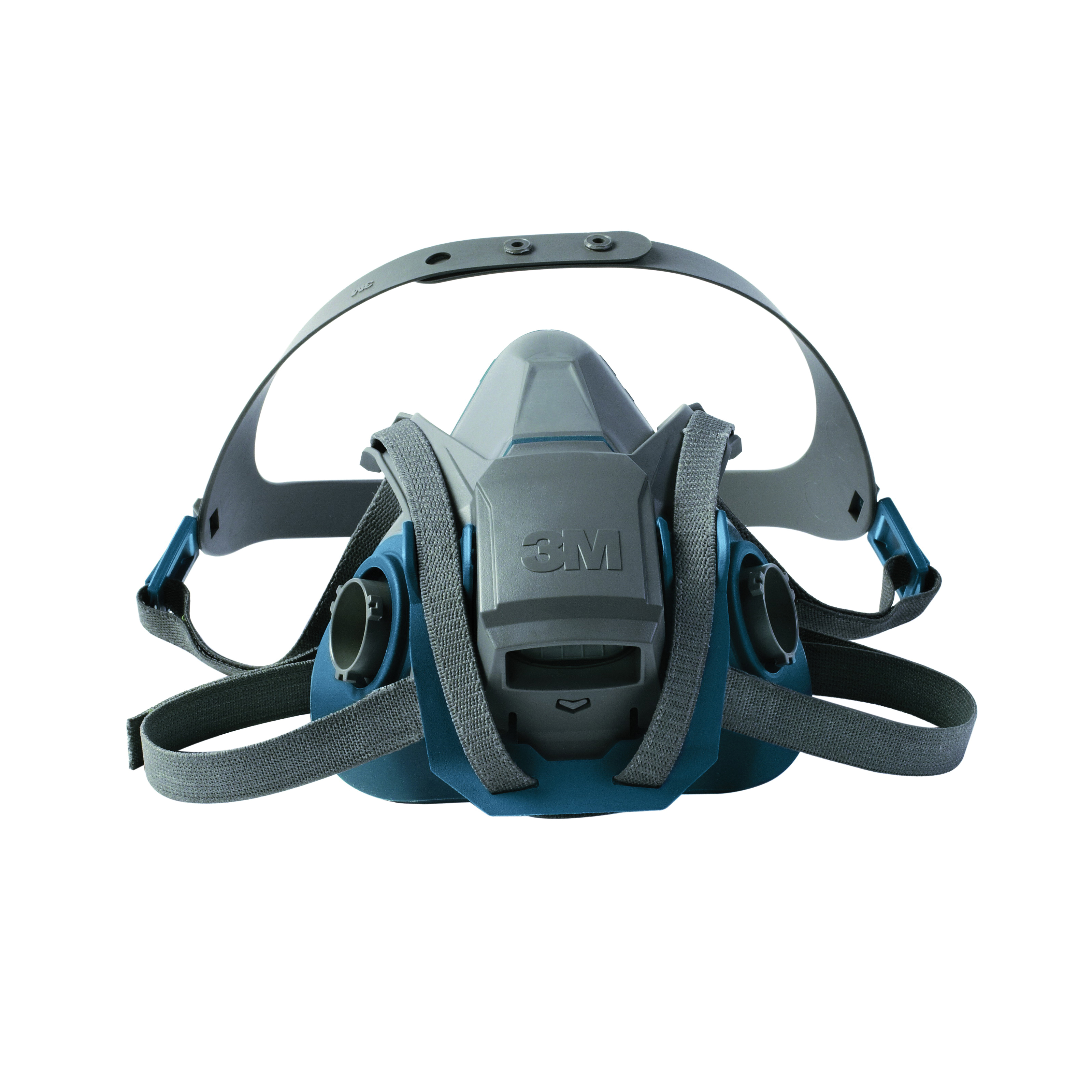 3M™ 051131-49492 6503QL Probed Reusable Half Facepiece Respirator With Cool Flow™ Exhalation Valve, L, 4-Point Quick Latch Suspension, Bayonet Connection, Resists: Gases and Vapors