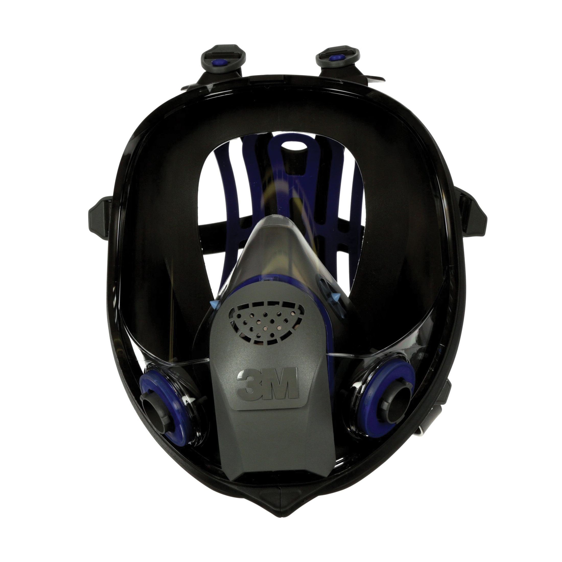 3M™ 051135-89421 Reusable Ultimate FX Full Face Respirator, M, 6-Point Suspension, Bayonet Connection