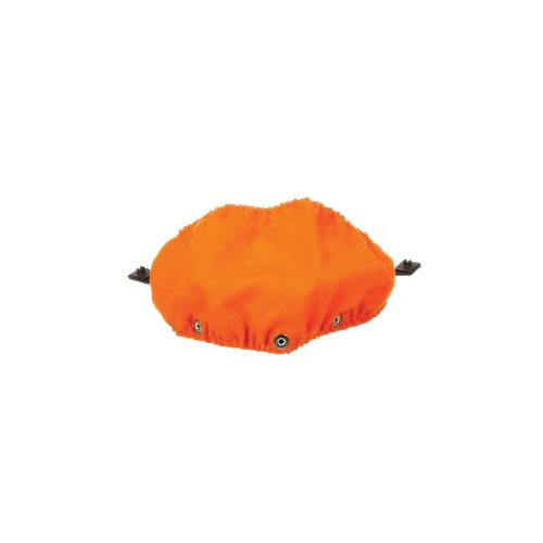 3M™ GR2F Molded Shield, For Use With 3M™ V2 Series Visors and PG2008MUV LumberJack Orange Hard Hat, Molten Metal, Orange