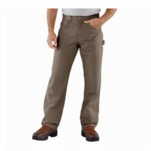 Carhartt® B159-MUS-32x30 B159 Loose Original Fit Solid Unlined Carpenter Jean, Men's, 30 in Waist, 32 in L Inseam, Mushroom, Ring-Spun Cotton Canvas