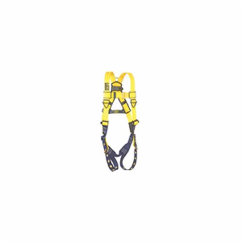 3M DBI-SALA Fall Protection 1102000C Delta™ Multi-Purpose Unisex Harness, Universal, 420 lb Load, Repel™ Polyester Strap, Tongue Leg Strap Buckle, Steel/Aluminum/Stainless Steel Torso Buckle/Stainless Steel Grommet Leg Buckle/Steel Chest Buckle Hardware