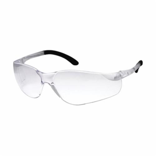 DenTec™ 90801 Sentinel Lightweight Protective Glasses, Anti-Scratch/Impact Resistant, Clear Lens, Wrap Around Frame, Clear, Polycarbonate Frame, Polycarbonate Lens, ANSI Z87.1