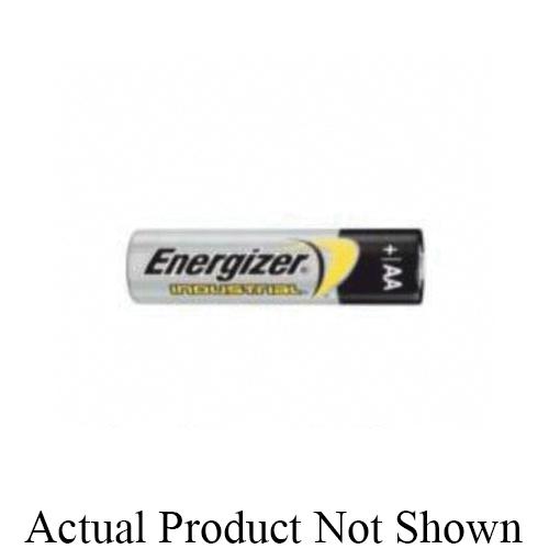 Energizer® EN91 Industrial Standard Battery, Alkaline, 1.5 V V Nominal, 2.85 Ah Nominal, AA