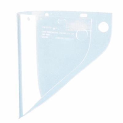Fibre-Metal® by Honeywell 4199CL Extended View Faceshield Visor, Clear, Propionate, 9-3/4 in H x 19 in W x 0.06 in THK Visor, For Use With F400, F500 and FH66 Faceshields, Specifications Met: ANSI Z87+