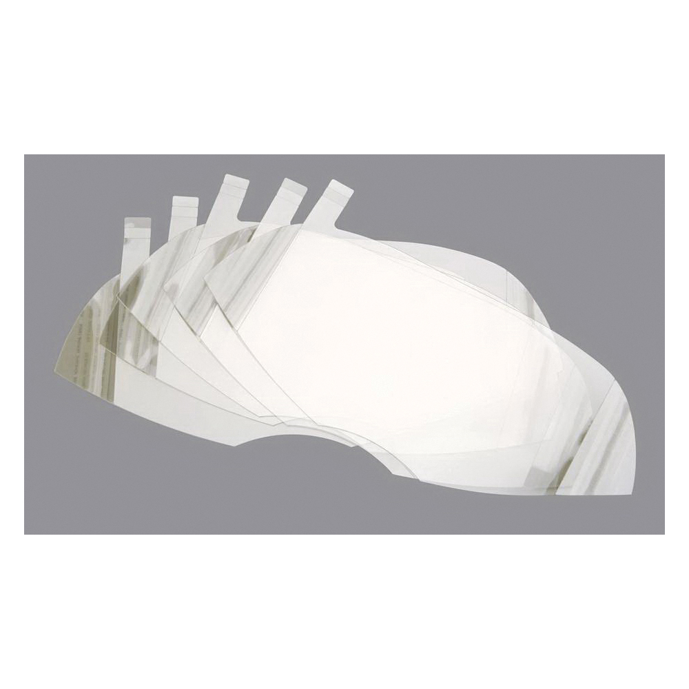 Honeywell Safety 80836A Peel Away Window, For Use With North® 7600 Series Full Facepiece Respirators, Clear