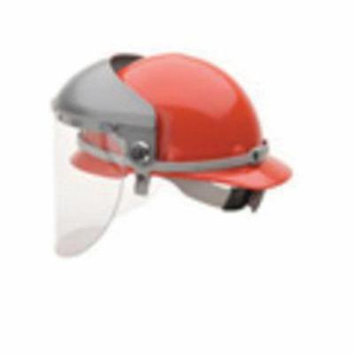 Honeywell Safety F5400 Partial Crown Faceshield Headgear, Gray, Noryl, For Use With Protective Caps, F400 4 in Crown with Adjustable 5000 Speedy Loop, Attach to Cap series Hard Hats, Speedy-Loop™ Adjustment
