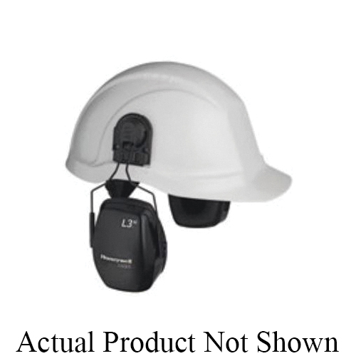 Howard Leight by Honeywell EM7209-HL Leightning® L3H Cap Mount Earmuffs, 26 dB Noise Reduction, White, Specifications Met: ANSI S3.19, EN 352-3, Z94.2, EPA Certified, CSA Certified