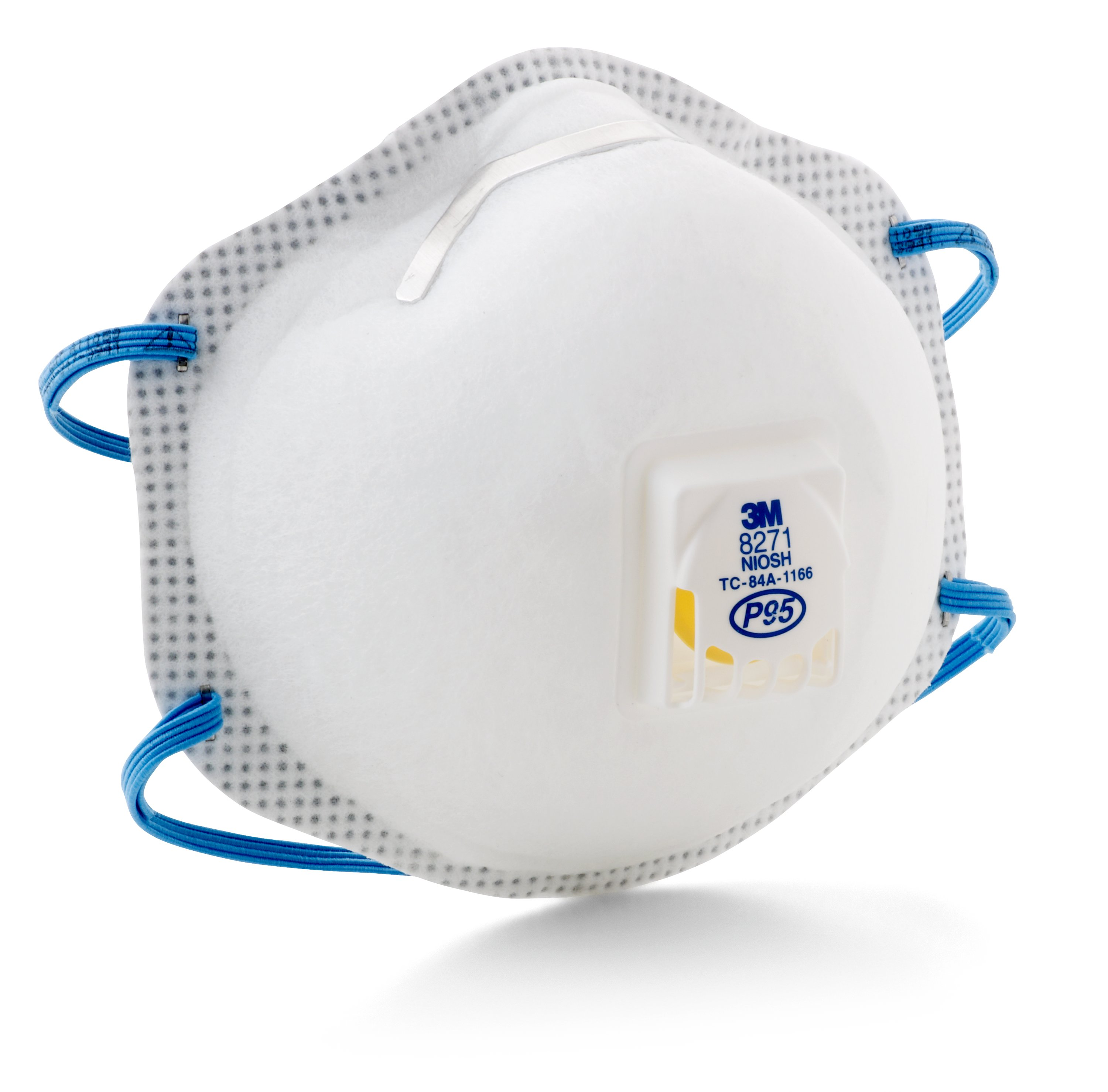 3M™ 8271 Standard Particulate Respirator, Resists: Oil and Non-Oil Based Particles