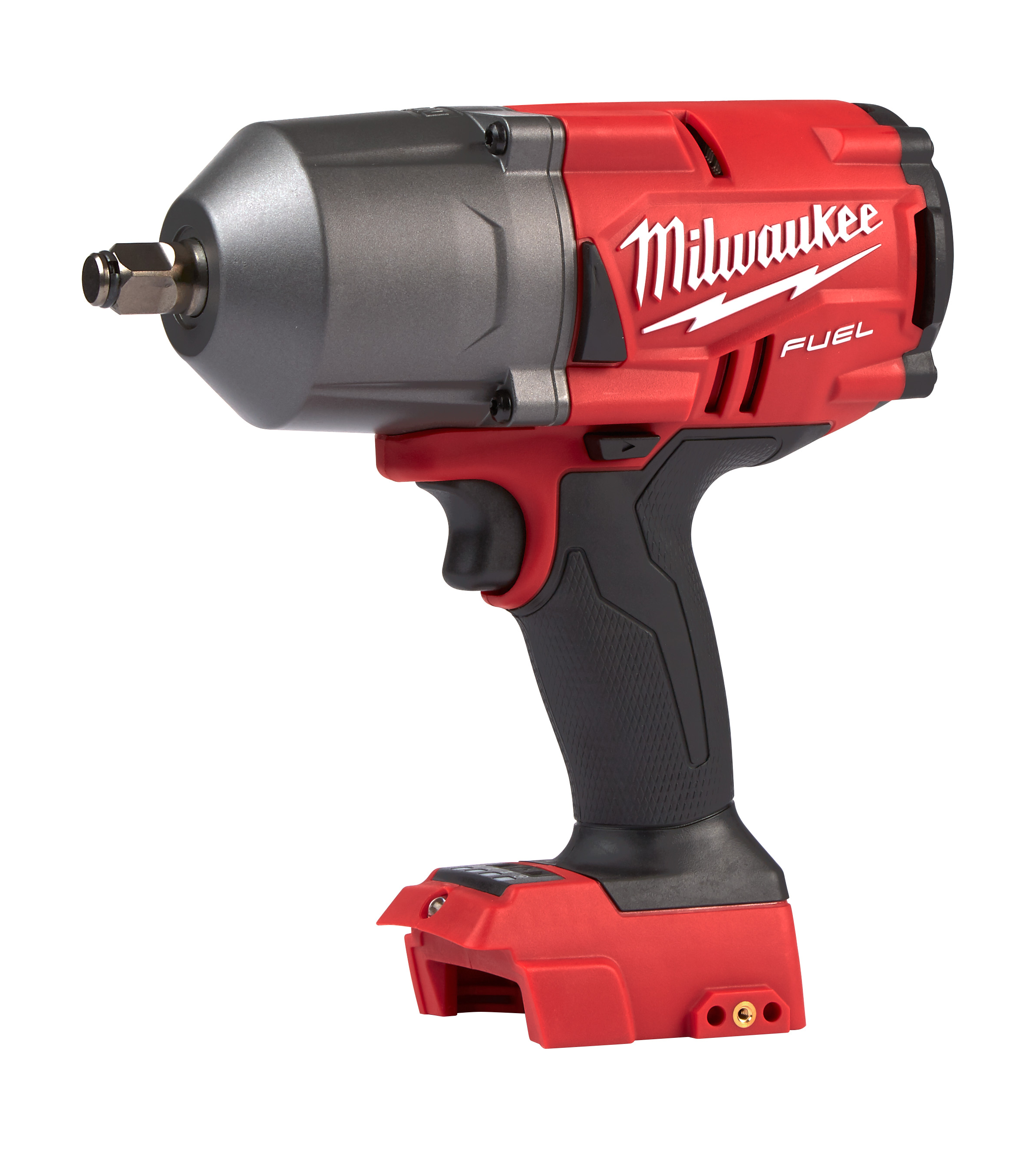 Milwaukee® M18™ FUEL™ 2767-20 M18™ FUEL™ Cordless Impact Wrench With Friction Ring, 1/2 in, 1000 ft-lb Torque, 18 VDC, 8.39 in OAL