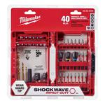 Milwaukee® 48-32-4006 SHOCKWAVE™ Impact Duty™ Drill and Drive Set, 1/4 in, Steel