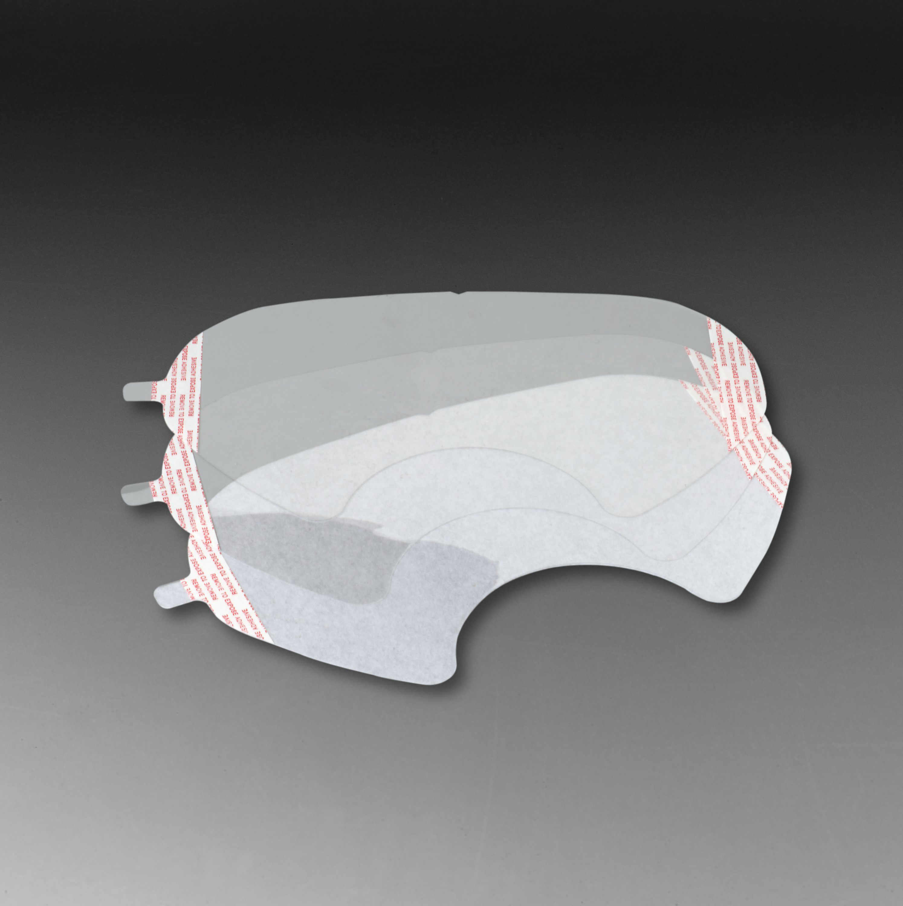 3M™ 051131-07142 Faceshield Cover, For Use With 3M™ 6000 Series Reusable Full Facepieces Respirators, White