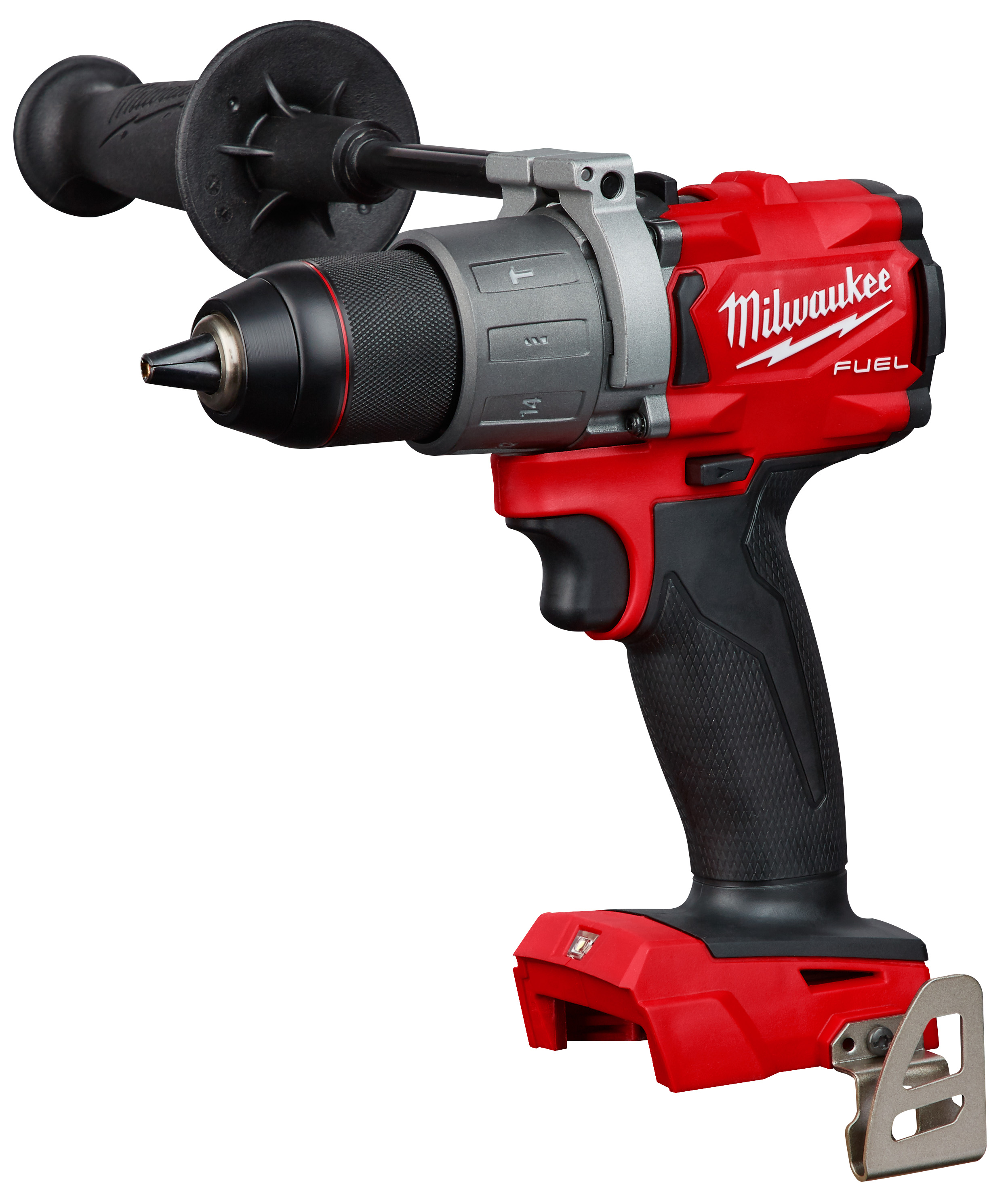 Milwaukee® M18™ FUEL™ 2804-20 Compact Cordless Lightweight Hammer Drill/Driver, 1/2 in Hex Chuck, 18 VDC, 0 to 550 rpm, 0 to 2000 rpm No-Load, REDLITHIUM™ Battery