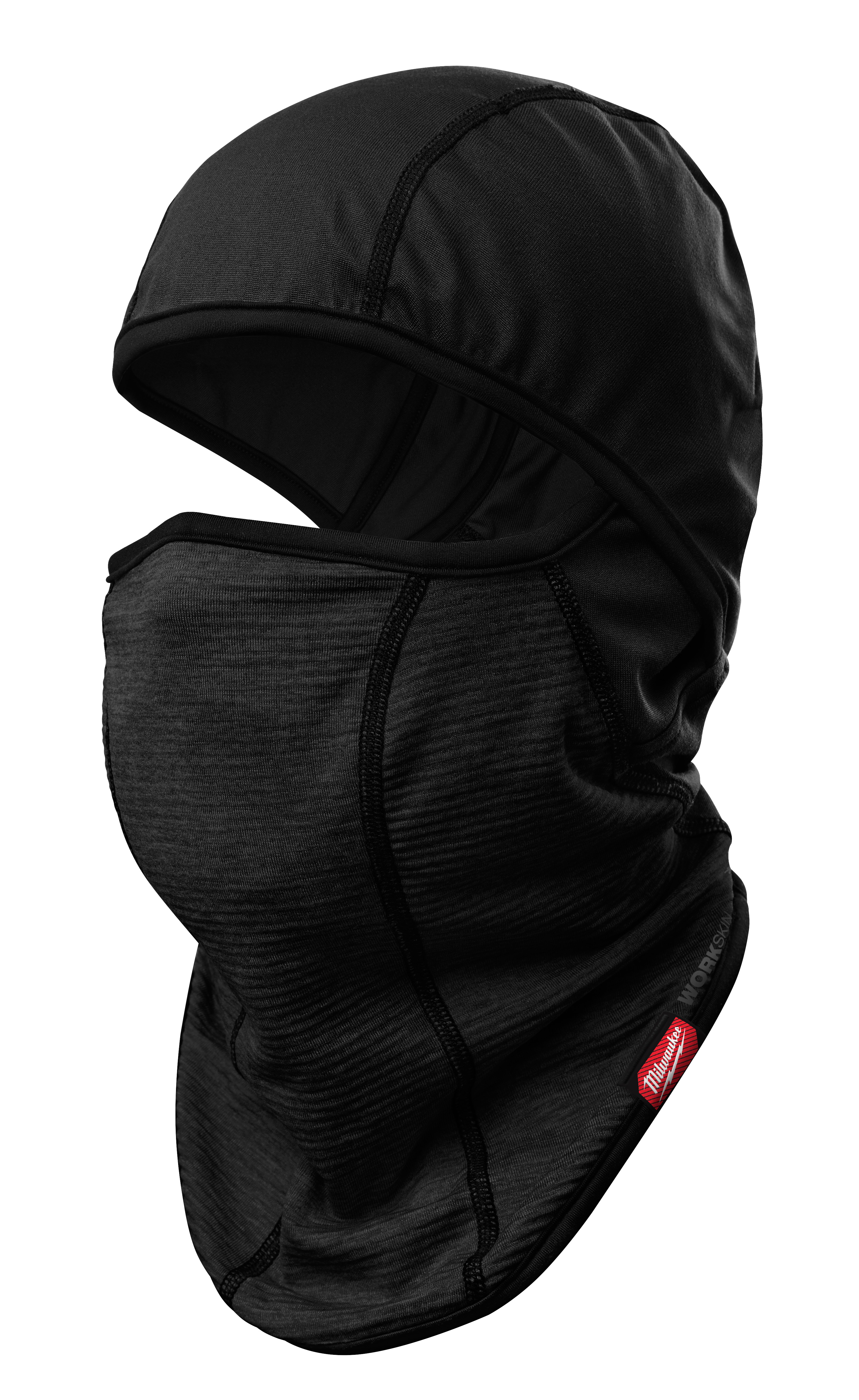 Milwaukee® WORKSKIN™ 421B Mid-Weight Cold Weather Balaclava, Universal, Black, Fabric