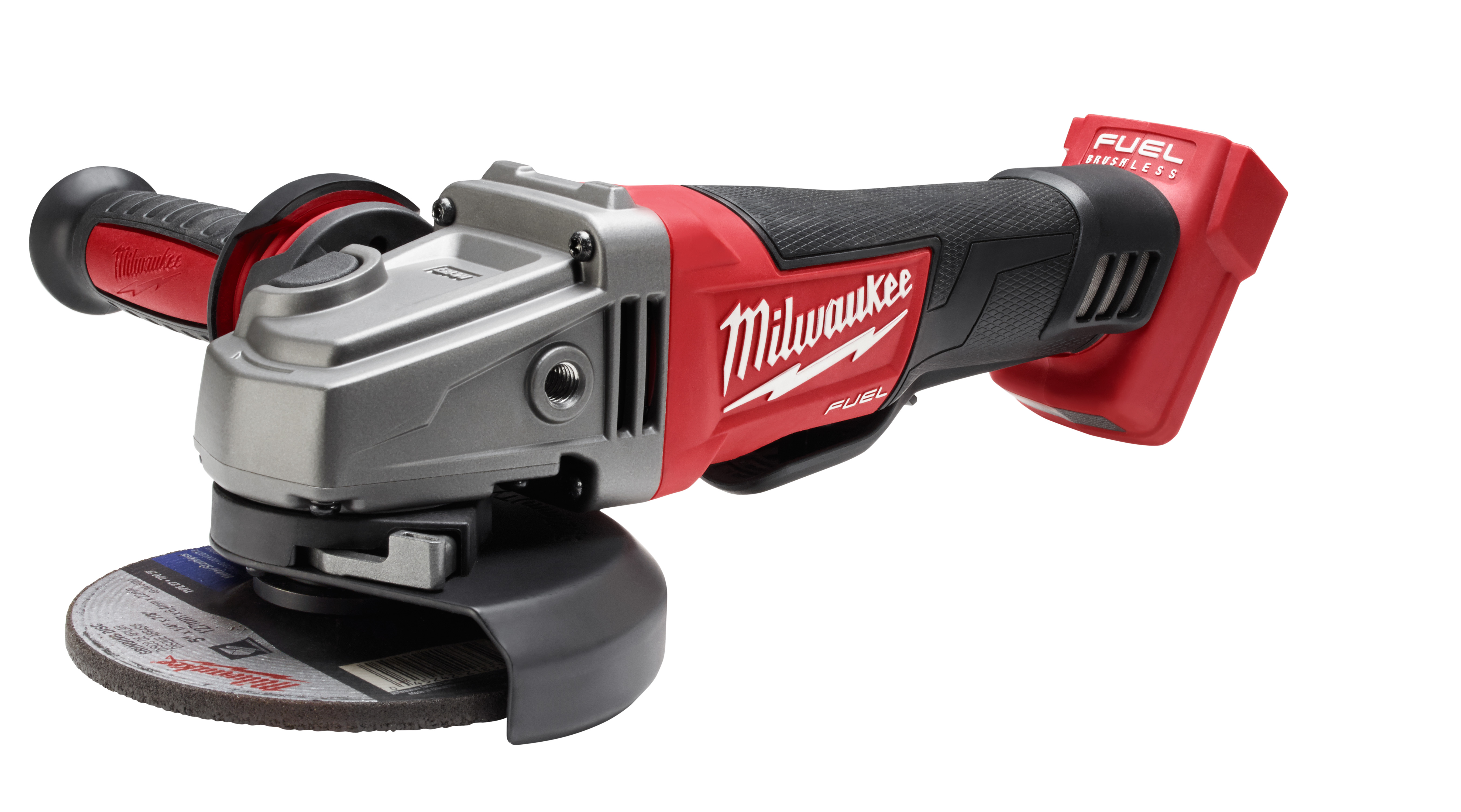 Milwaukee® M18™ FUEL™ 2780-20 Cordless Grinder, 4-1/2 in Dia Wheel, 5/8-11 Arbor/Shank, 18 VDC, Lithium-Ion Battery, Paddle No-Lock Switch