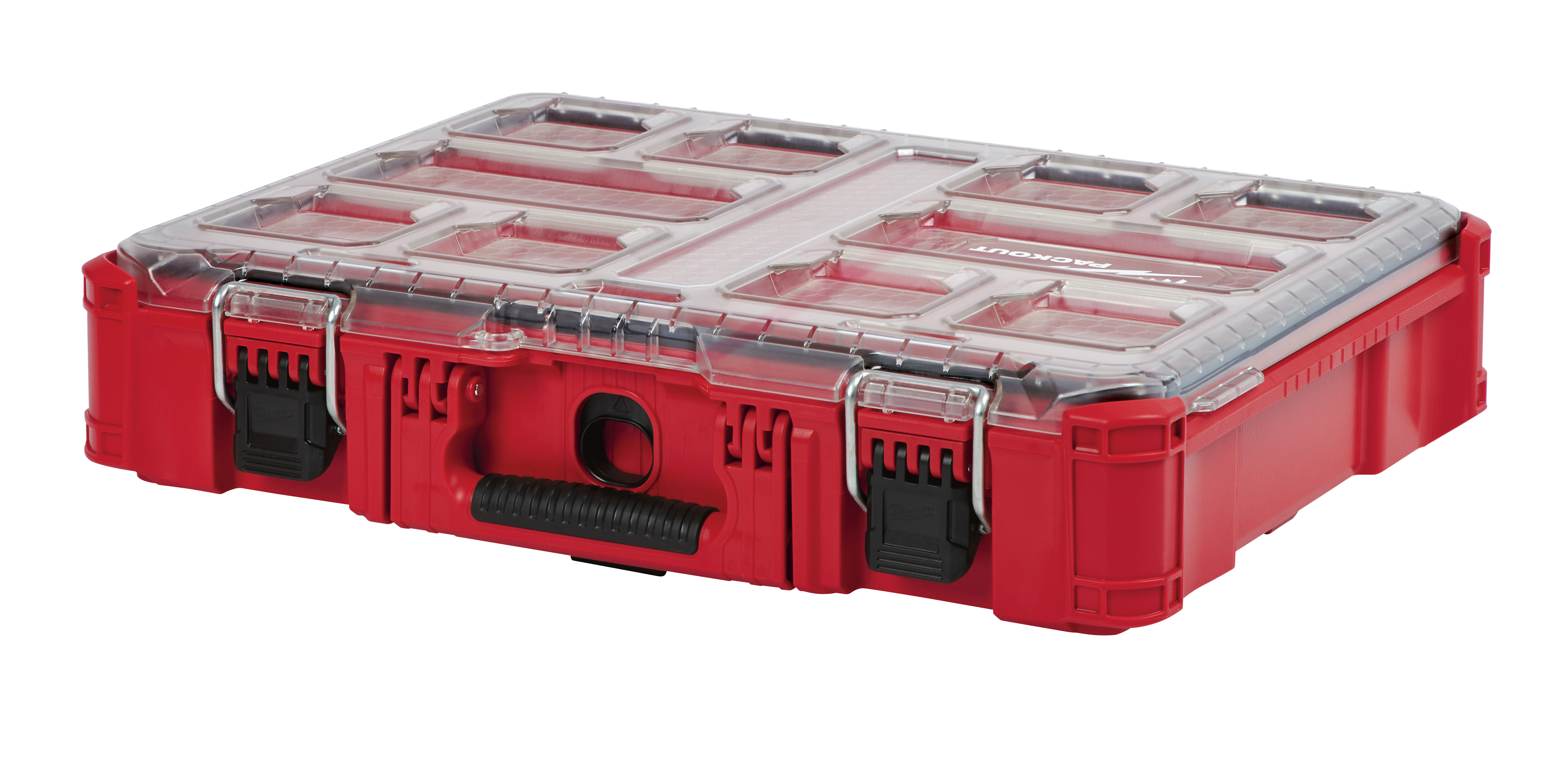 Milwaukee® PACKOUT™ 48-22-8430 Impact-Resistant Tool Organizer, 4.61 in H x 15 in W, Polymer, Red