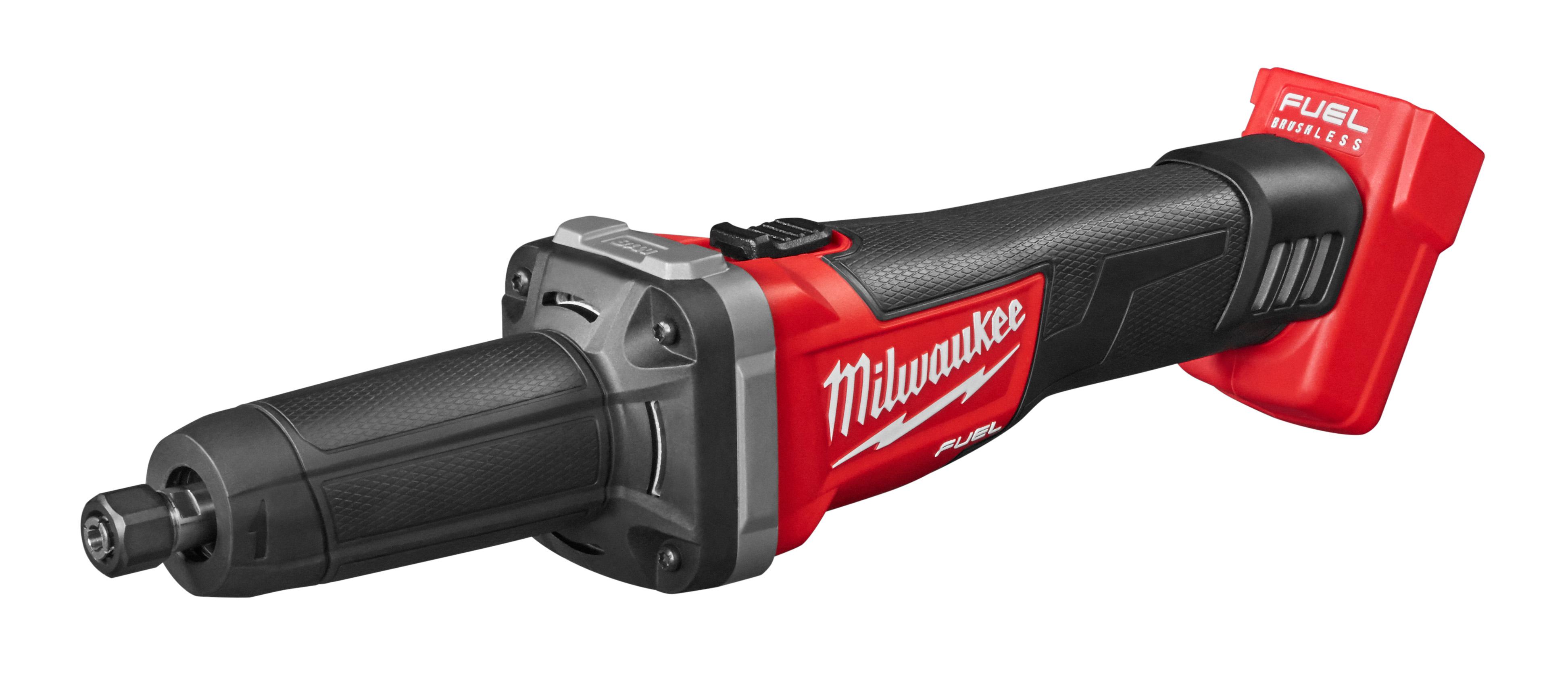 Milwaukee® M18™ FUEL™ 2784-20 Cordless Die Grinder, 18 VDC, 5 Ah REDLITHIUM™ Battery, Black/Red