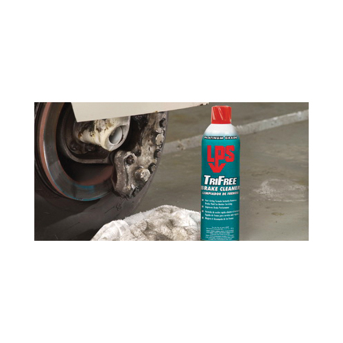 LPS® C03620 TriFree Heavy Duty Brake Cleaner, 544 mL Aerosol Can, Clear, Ether Like/Fruity