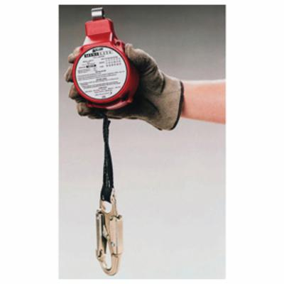 Miller® by Honeywell FL11-1-Z7/11FT MiniLite® Personal Fall Limiter With Twist-Lock Carabiner and Locking Snap Hook, 310 lb Load Capacity, 11 ft L, Specifications Met: ANSI A10.32, ANSI Z359.14 Class B