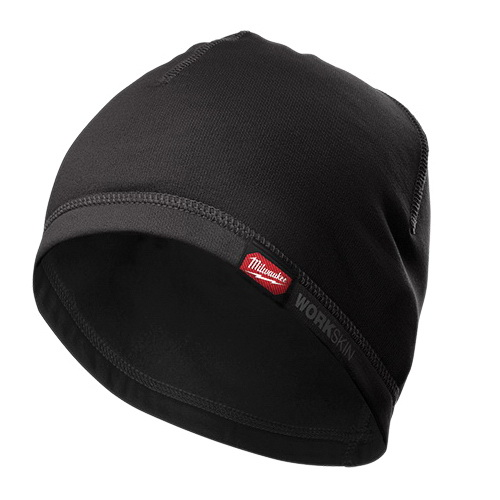 Milwaukee® WORKSKIN™ 422B Mid-Weight Cold Weather Helmet Liner, Universal, Black, Fabric