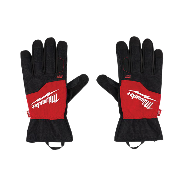 Milwaukee® 48-73-0031 Performance Work Gloves, Winter, Finger Tip Style, M, Black/Red