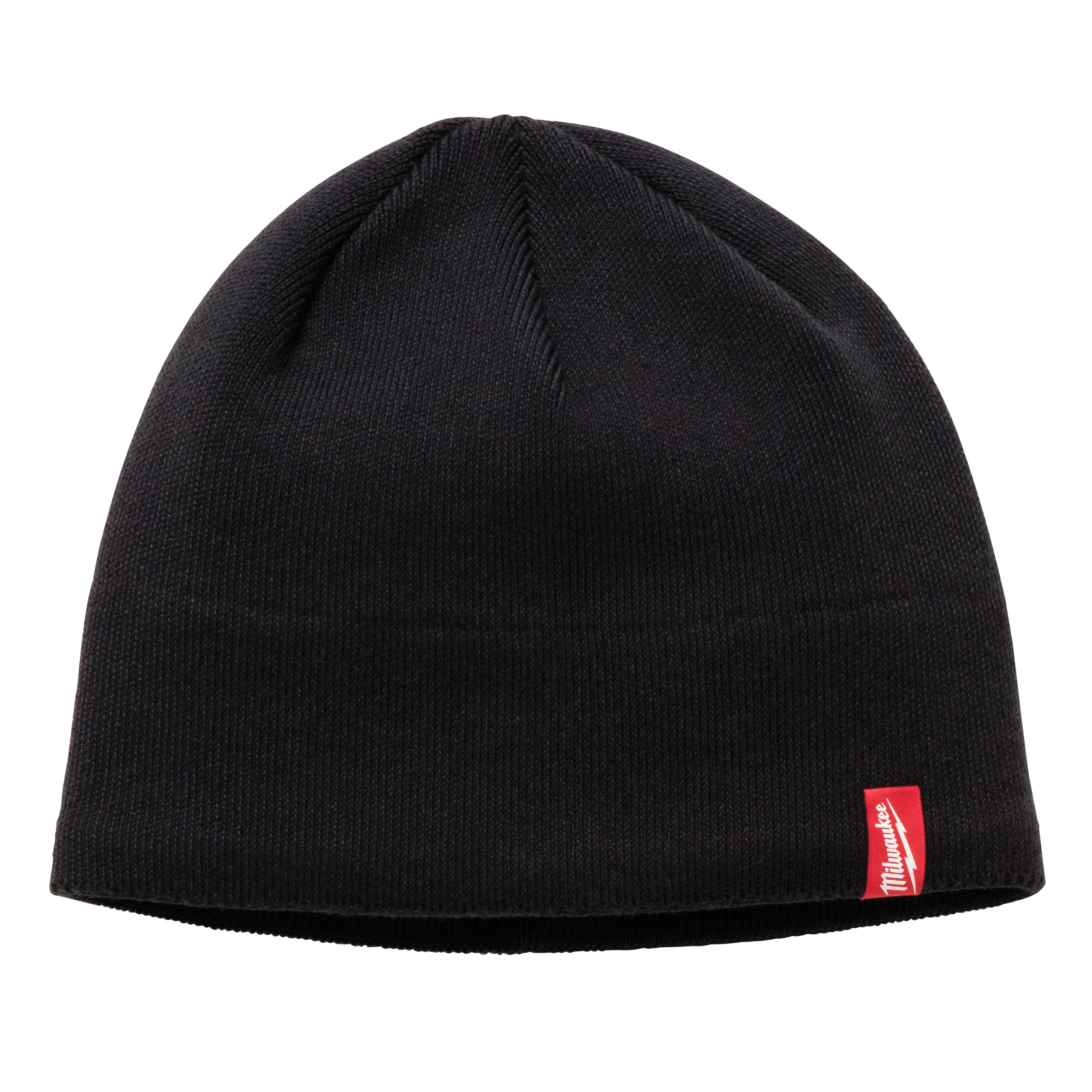 Milwaukee® 502B Insulated Wind/Water-Resistant Knit Hat Fleece Lined Knit Hat, Universal, Black, Fleece Lined Polyester, Pull Over Closure