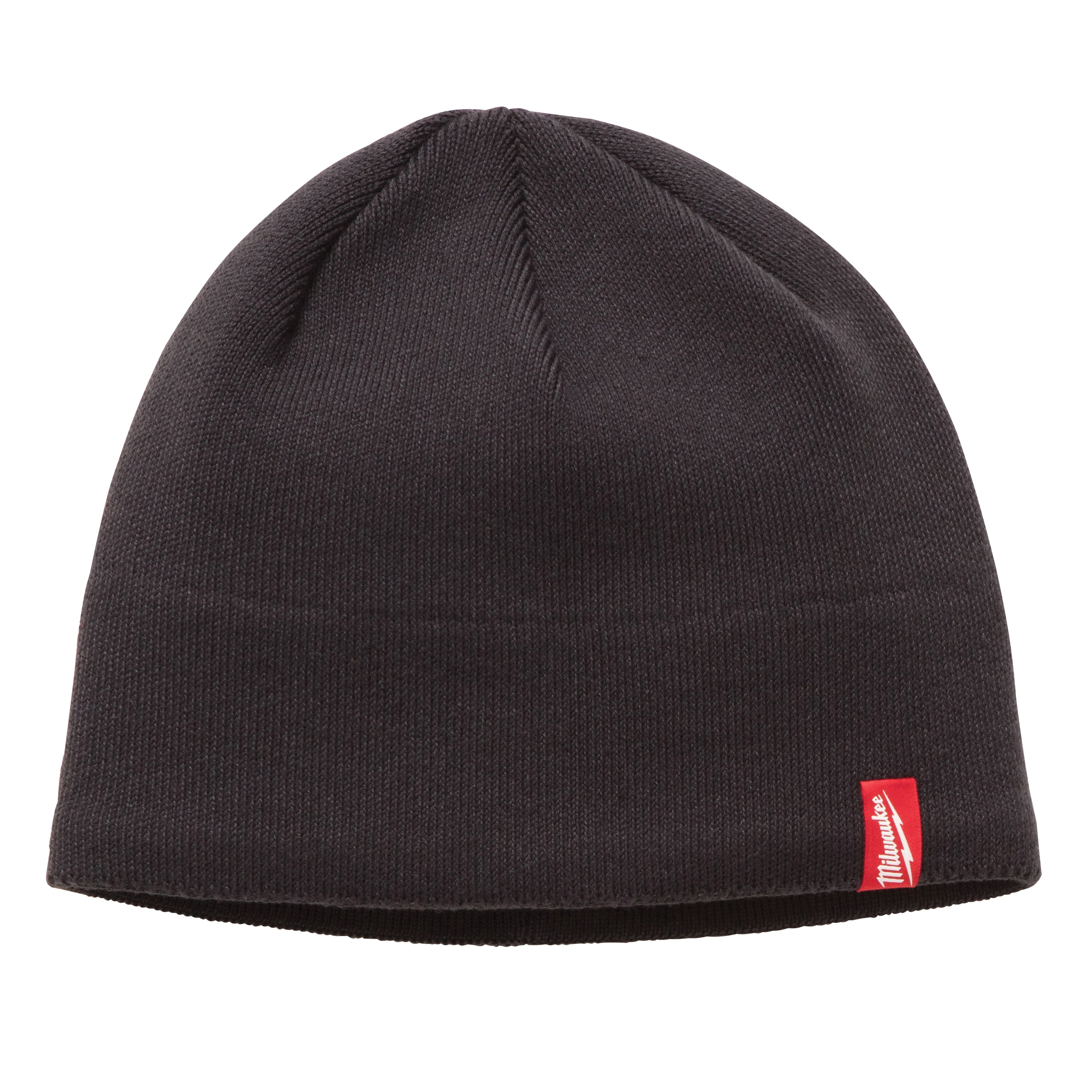 Milwaukee® 502G Insulated Wind/Water-Resistant Knit Hat Fleece Lined Knit Hat, Universal, Gray, Fleece Lined Polyester, Pull Over Closure
