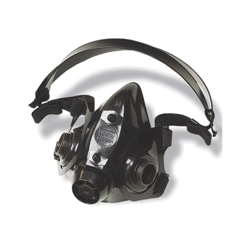 North® by Honeywell 770030L 7700 Half Mask Respirator, L, Black