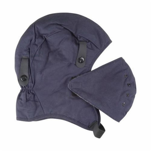 North® by Honeywell WL12FP Deluxe Heavy Duty Winter Liner, For Use With Hard Hats, Universal, 18-4/5 in L, FR Cotton, Royal Blue