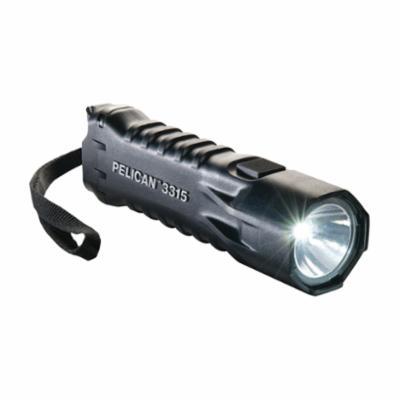 Pelican™ 033150-0100-110 3315 Medium Flashlight, LED Bulb, ABS Housing, 160 Lumens Lumens