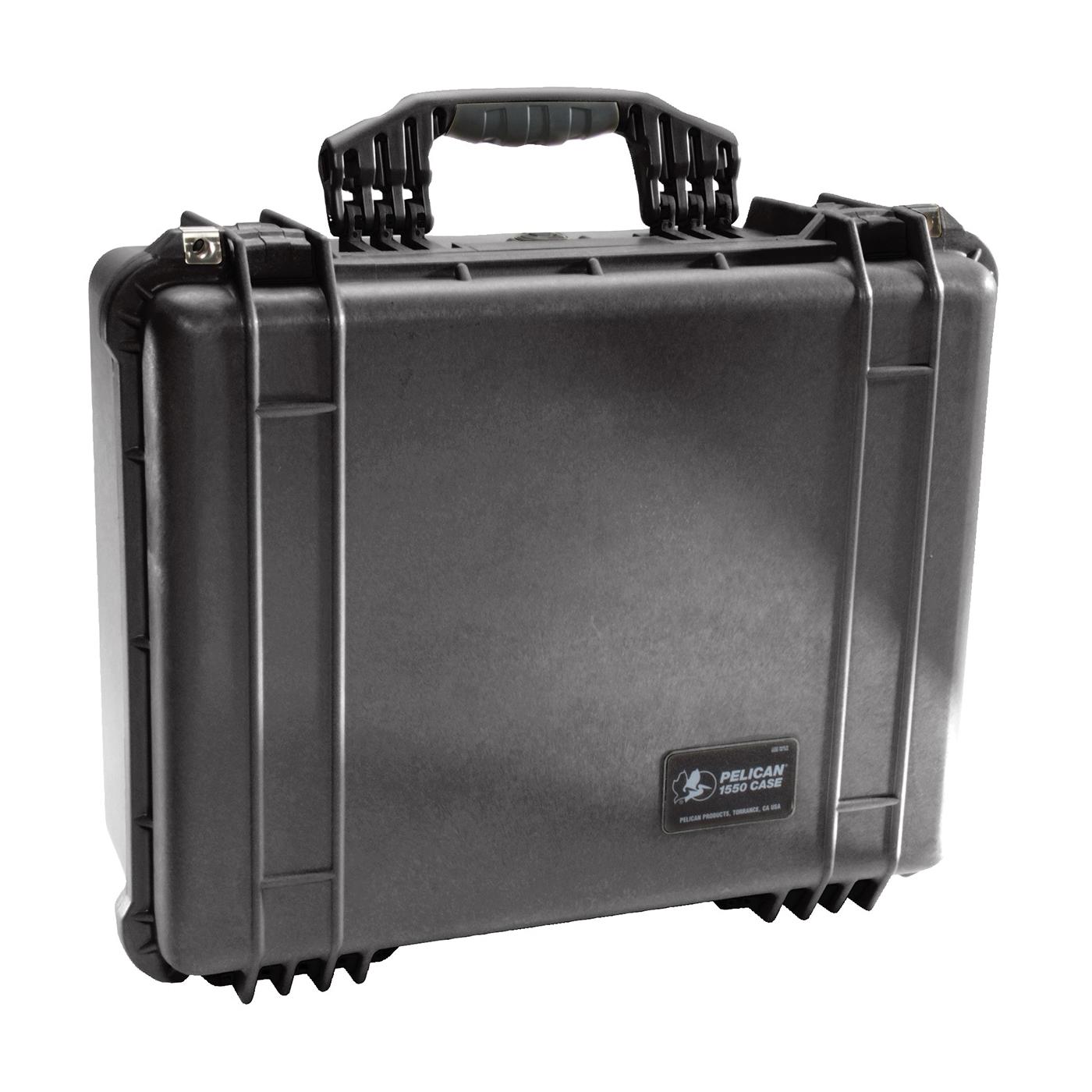 Pelican™ PROTECTOR CASE™ 1550-000-110 Medium Protective Case With Foam and Lid Liner, 18.43 in L x 14 in W x 7.62 in H, 1.18 cu-ft, Polypropylene