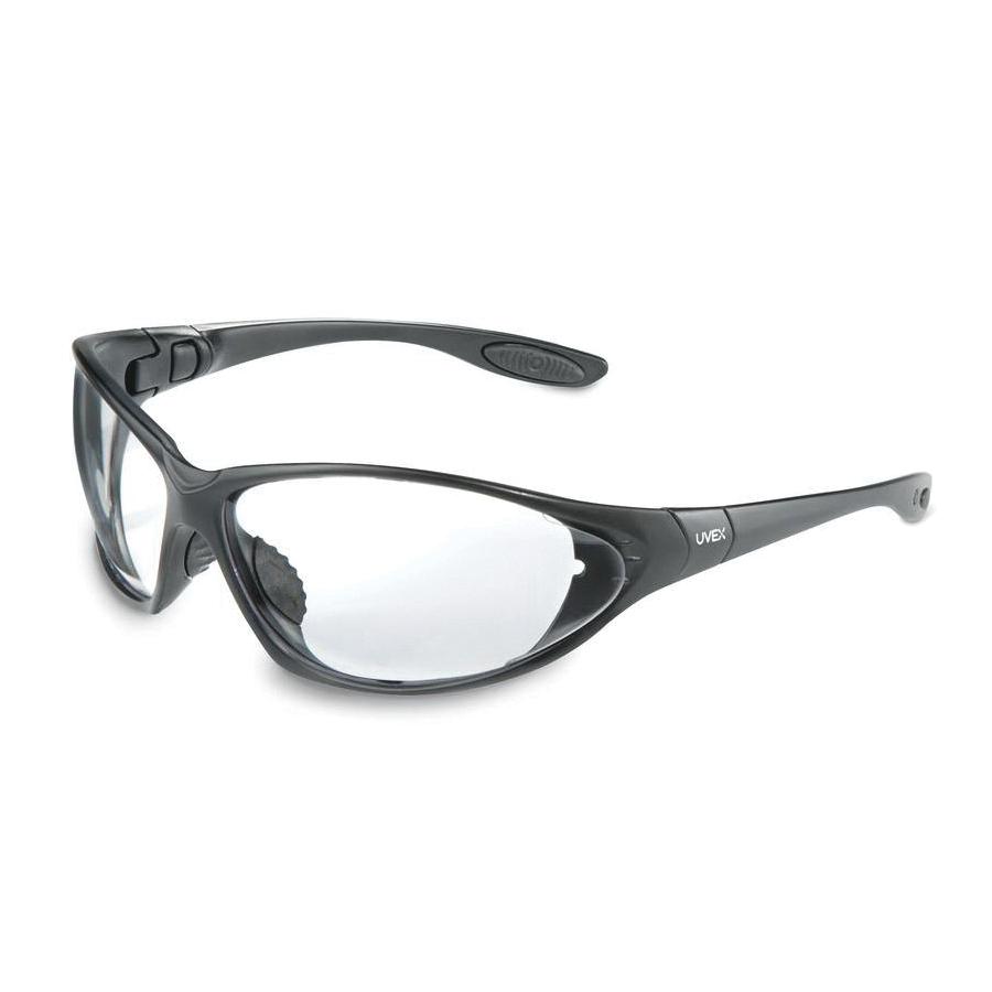 Uvex® by Honeywell S0600D Seismic® Indirect Vented Sealed Eyewear, Dura-Streme Dual Anti-Fog/Anti-Scratch, Clear Lens, Full Framed/Wraparound Frame, Black, Polycarbonate Frame, Polycarbonate Lens, ANSI Z87.1-2003, CSA Z94.3
