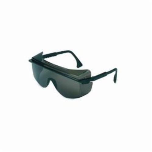 Uvex® by Honeywell S2504C Astrospec® 3001 Lightweight Safety Eyewear, Uvextreme® Anti-Fog, Gray Lens, OTG Frame, Black, Nylon Frame, Polycarbonate Lens, ANSI Z87.1-1989, ANSI Z87.1-2003, CSA Z94.3, CA 18828, Military V0