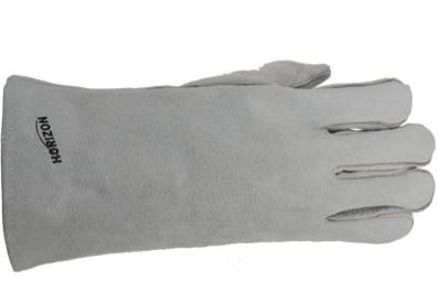 Welding Glove 5 Finger Split Leather Lined