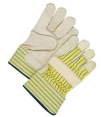Work Glove Cowgrain Fitter With Unlined Palm - Xl