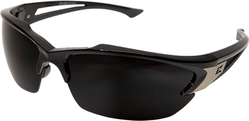 Safety Glasses Robson Black Smoke Lens Vapour Shield