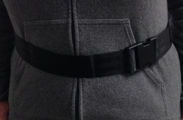 Respirator Belt Nylon With Plastic Clip