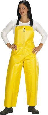 Pants Oiler Black Diamond Yellow Striped - 2Xl