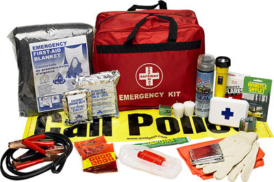 First Aid Kit Vehicle Emergency In Nylon Bag