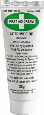Cetrimide First Aid Cream 25G
