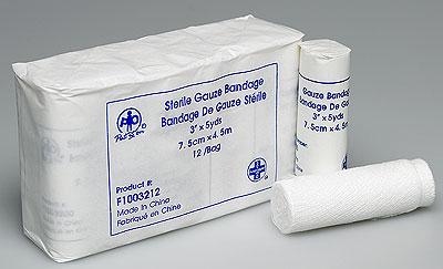 Gauze Bandage 4Inx5 Yds Each