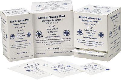 Gauze Pads 3X3 (4/Box)