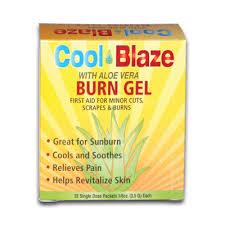 Burn Gel Cool Blaze Gel Packet 1/8 Oz. (6/Pkg)
