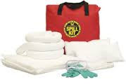 "Spill Kit General Purpose Truck In 25L In Red Nylon Bag 18""X18"""