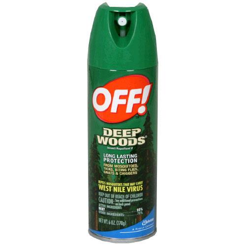 Bug Spray Deep Woods Off Aerosol Repellent 230 G