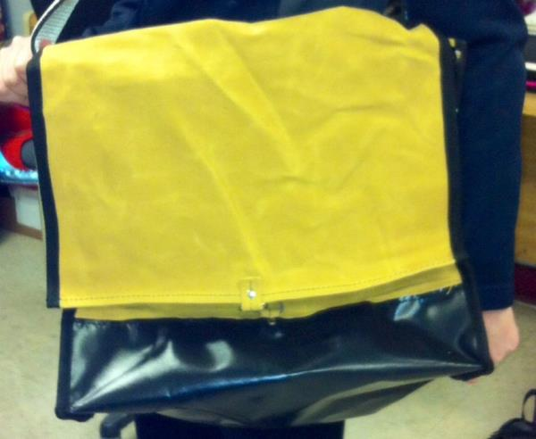 Tool Bag Heavy Duty Mechanic Canvas Pvc Bottom