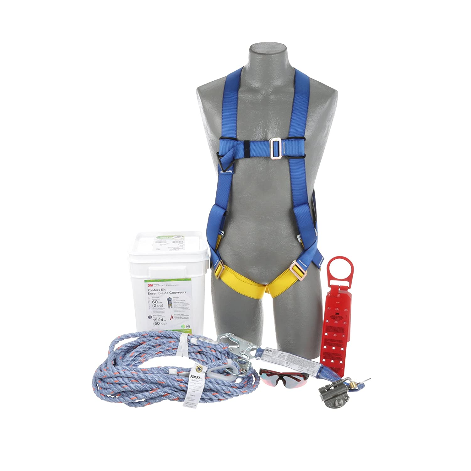 RoofersKitW/PassThruHarness50ftRope