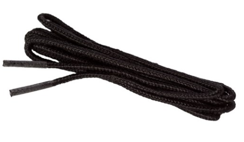 Laces, Black, 72 in