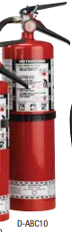 Fire Extinguisher-10 Lb Abc W/Wall Brkt