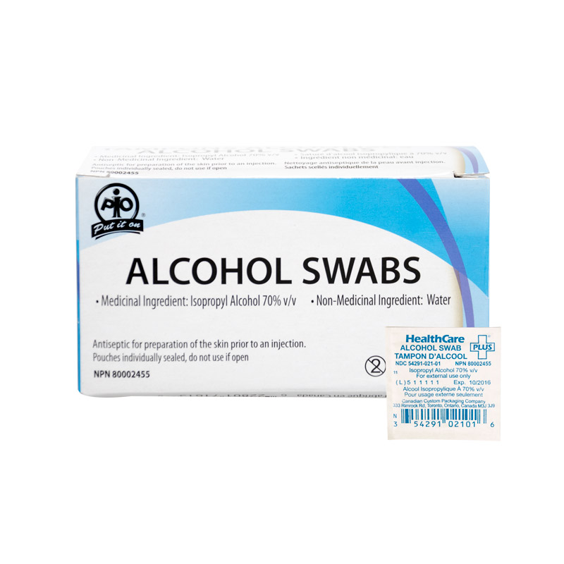 Alcohol Prep Pads, Each