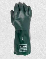 Glove,14In Pvc, Green Gauntlet
